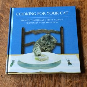 Cooking for your cat cookbook